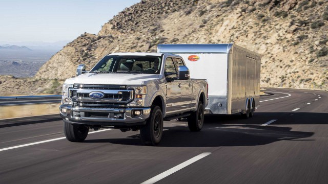 2022 Ford F-250 Super Duty towing capacity