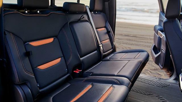 2022 GMC Sierra 1500 interior