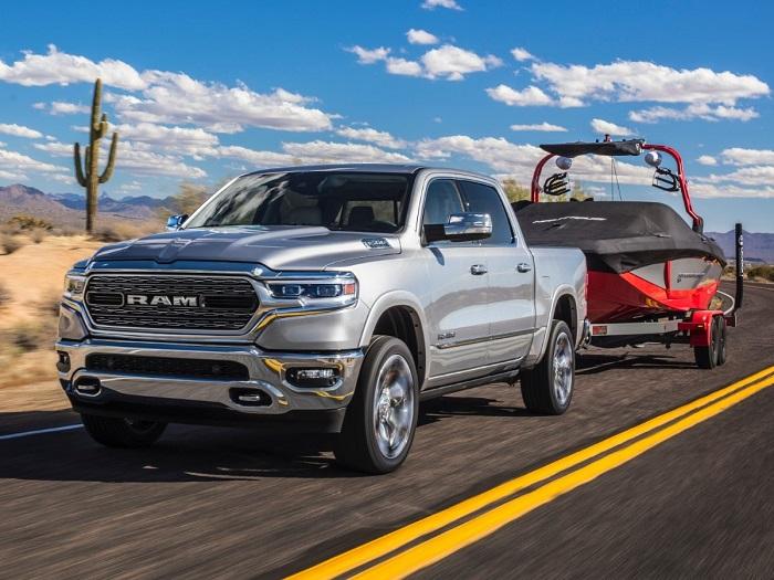 2022 RAM 1500 towing capacity