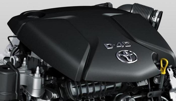 2022 Toyota Tacoma Diesel engine