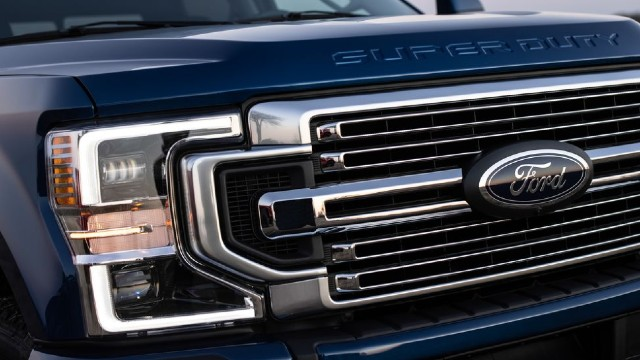 2022 Ford F-350 changes