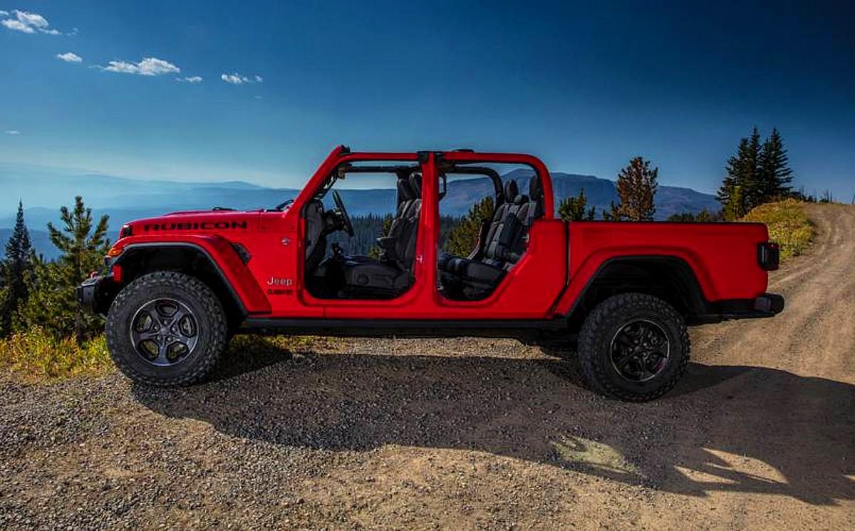2022 Jeep Gladiator Rubicon colors