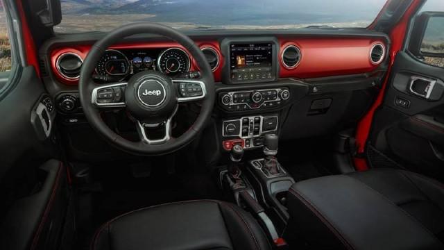 2022 Jeep Gladiator Rubicon interior