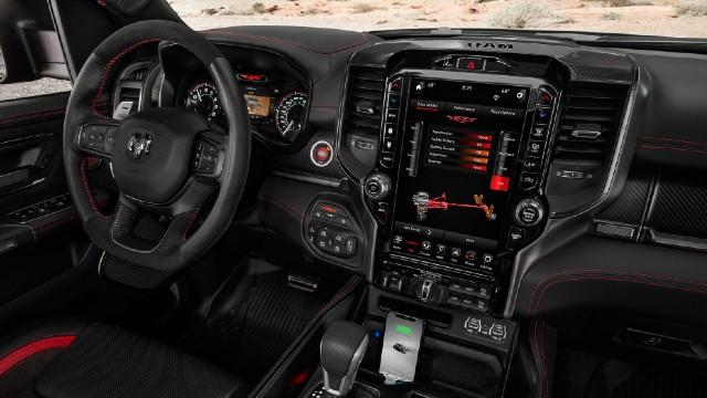 2022 RAM 1500 TRX Rebel interior