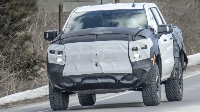 2022 Chevy Silverado ZR2 spied