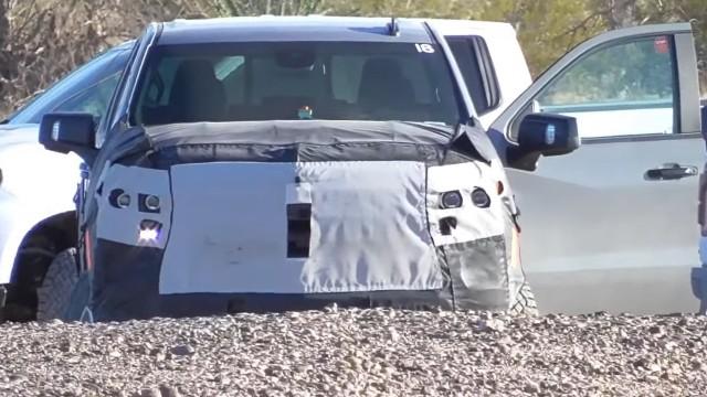 2022 Chevy Silverado ZRX spied