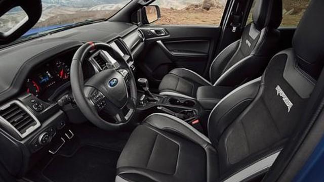 2022 Ford Ranger Raptor interior
