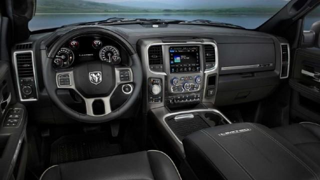 2022 RAM Dakota interior