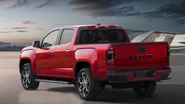 2022 RAM Dakota truck