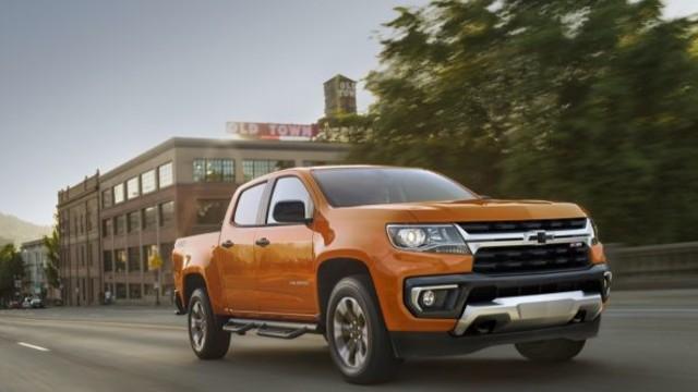 2023 Chevrolet Colorado changes