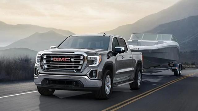 2023 GMC Sierra towing