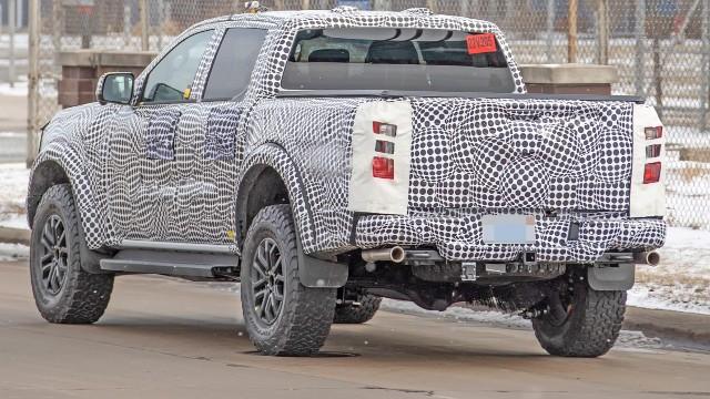 2023 Ford Ranger Raptor spy shots