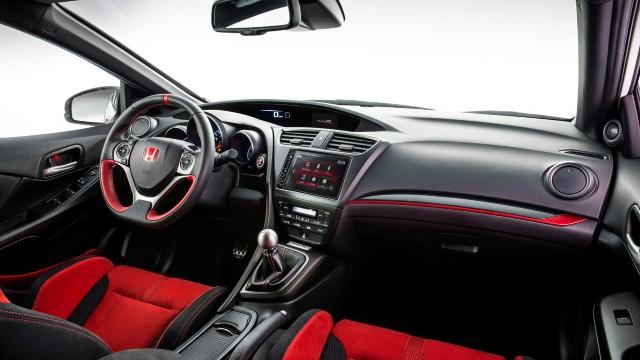 2023 Honda Ridgeline Type R interior
