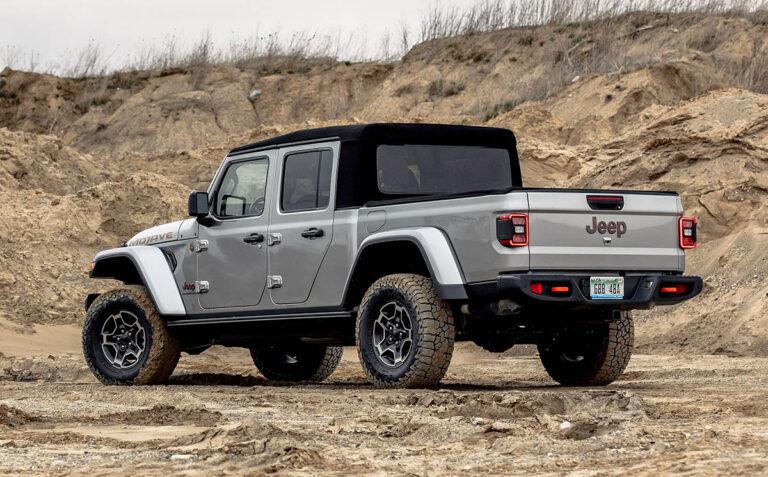 2023 Jeep Gladiator changes