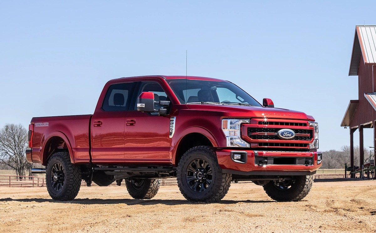 2023 Ford F-250 release date