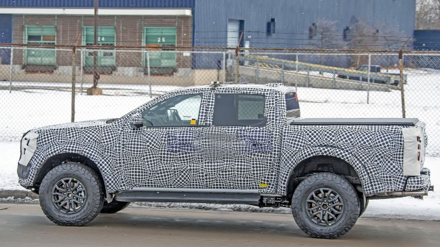 2023 Ford Ranger PHEV spy shots