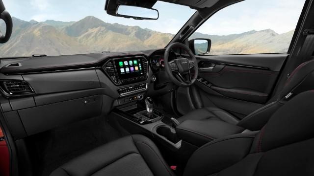 2023 Isuzu D-Max interior