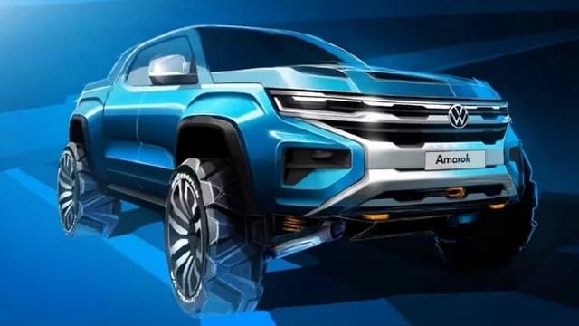 2023 VW Amarok teaser