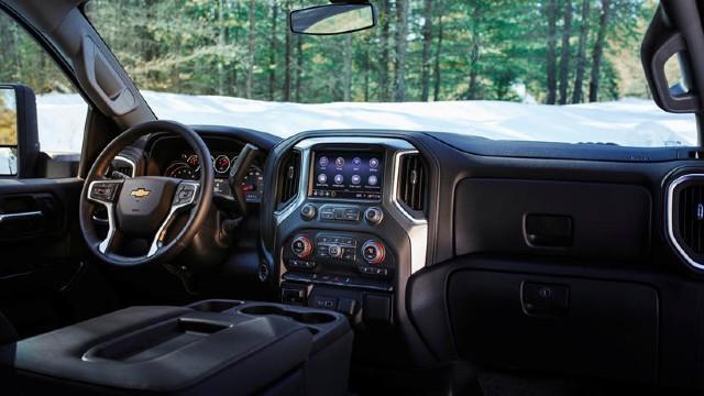 2023 Chevy Silverado 3500 HD interior