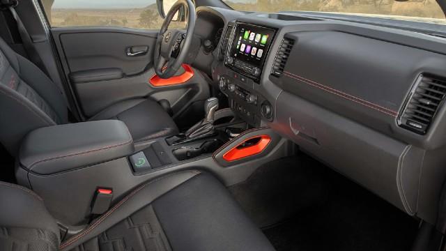 2023 Nissan Frontier Pro-4X interior